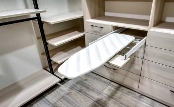 Гладильная доска встраиваемая в шкаф-купе, как правильно выбрать.