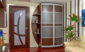 Шкафы-купе в прихожую - встроенный, угловой, корпусный. Идеи для дизайна!