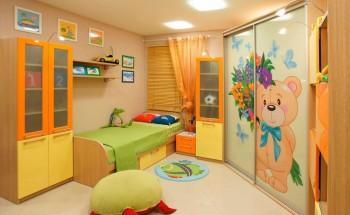 Шкафы-купе в детскую комнату, идеи для дизайна!