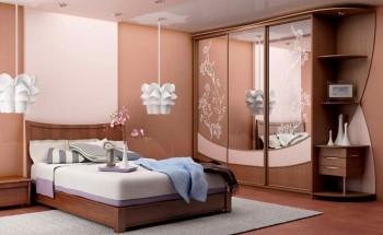 Шкафы-купе в спальню - преимущества, недостатки, виды конструкций, дизайн и идеи!