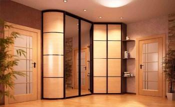 Как выбрать угловой шкаф-купе: виды, дизайн, наполнение, дизайн и фото