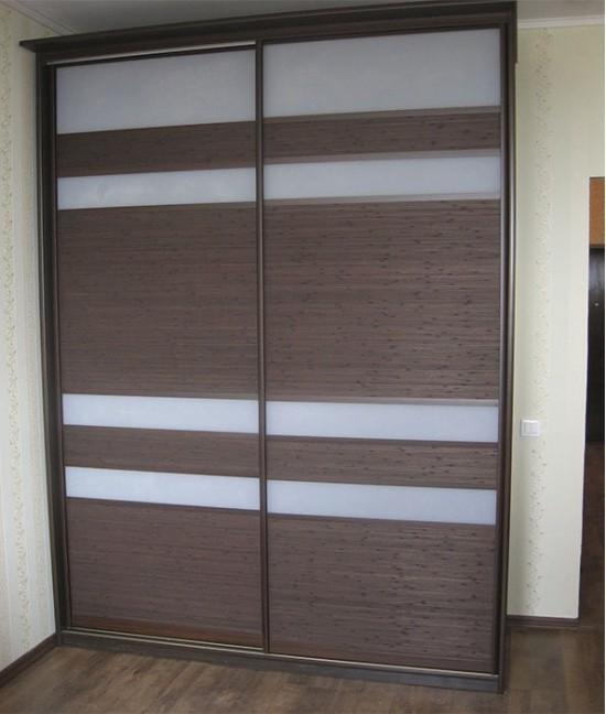 Двери для шкафа купе бамбук