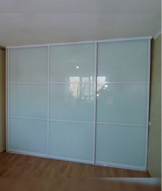 Двери купе белый глянец