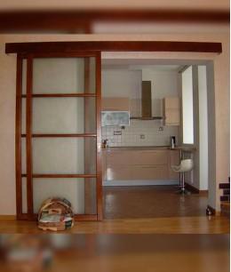 Раздвижные межкомнатные двери в одну сторону