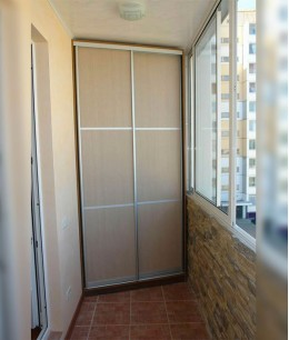 Раздвижные балконные двери из лдсп