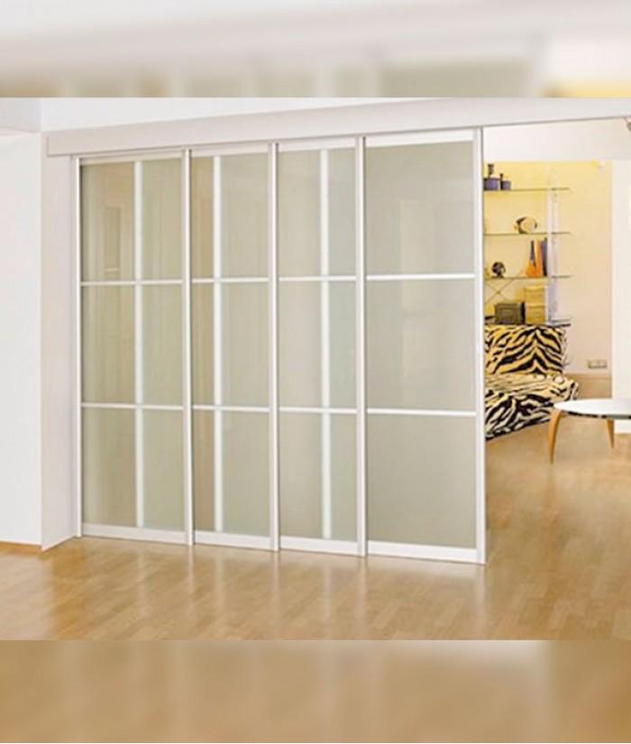 Передвижные двери перегородки в квартире фото