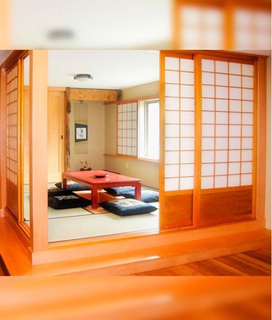 Раздвижные перегородки в японском стиле