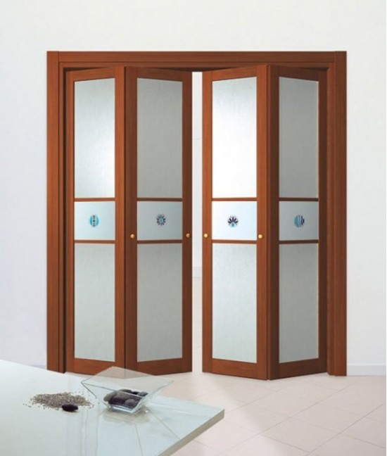 Двери сдвижные складные