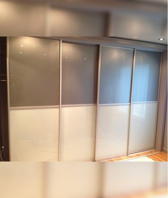 Двери для шкафа-купе из пленки