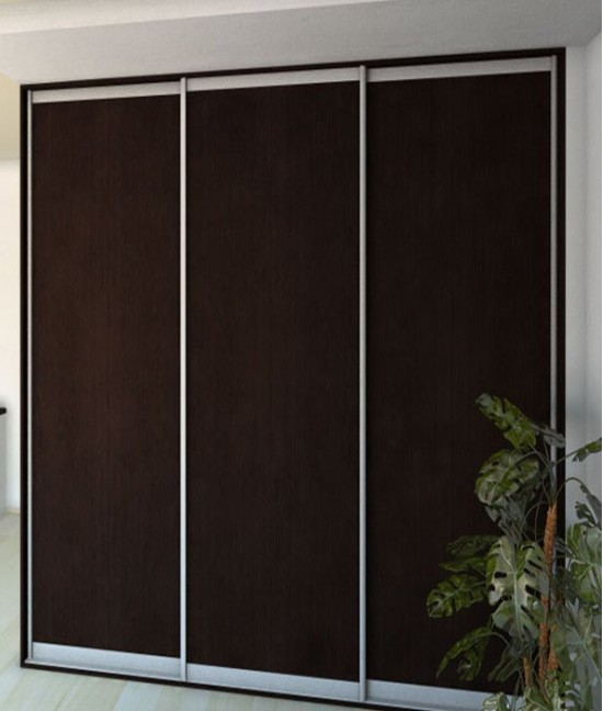 Темные двери для шкафа купе