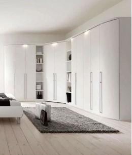 Большая спальня с гардеробной