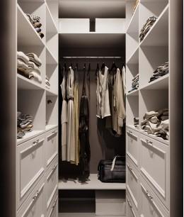Шкаф гардеробная п образная