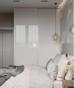 Спальня 13 кв м с гардеробной