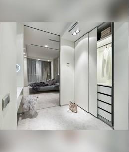Спальня 19 кв м с гардеробной