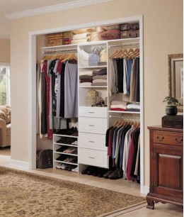 Спальня гостиная с гардеробной