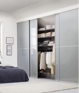 Спальня совмещенная с гардеробной