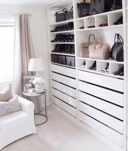 Встраиваемый гардеробный шкаф