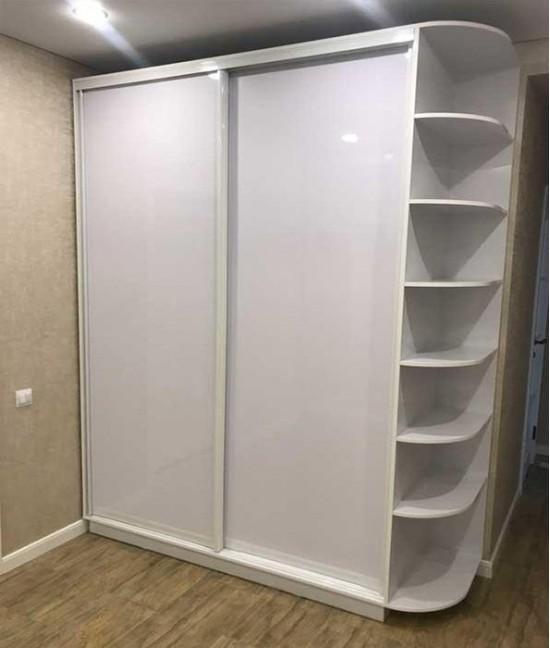 Шкаф купе в детскую белый