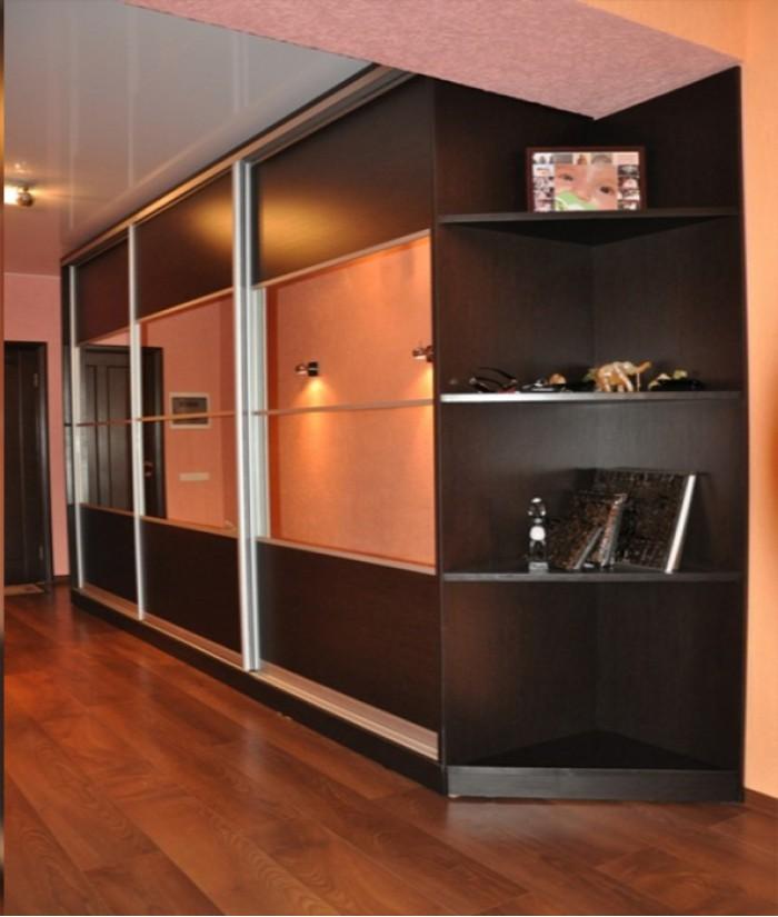 интереснно интригующе шкафы в коридор во всю стену фото рдеста проходит