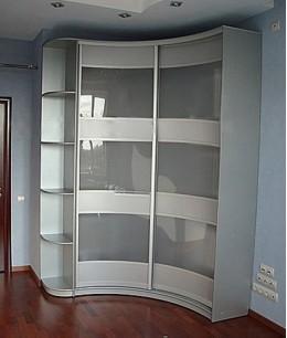 Шкафы гардеробные радиусные
