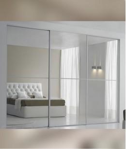 Встроенный шкаф купе зеркальные современный