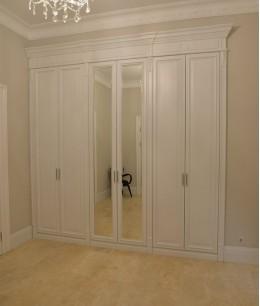 Встроенный шкаф распашной прованс