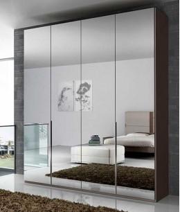 Встроенный шкаф распашной зеркальный